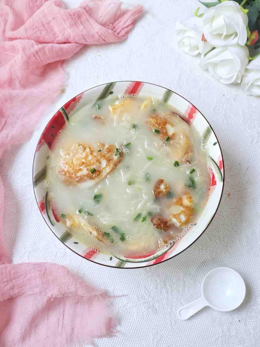 荷包蛋萝卜丝汤