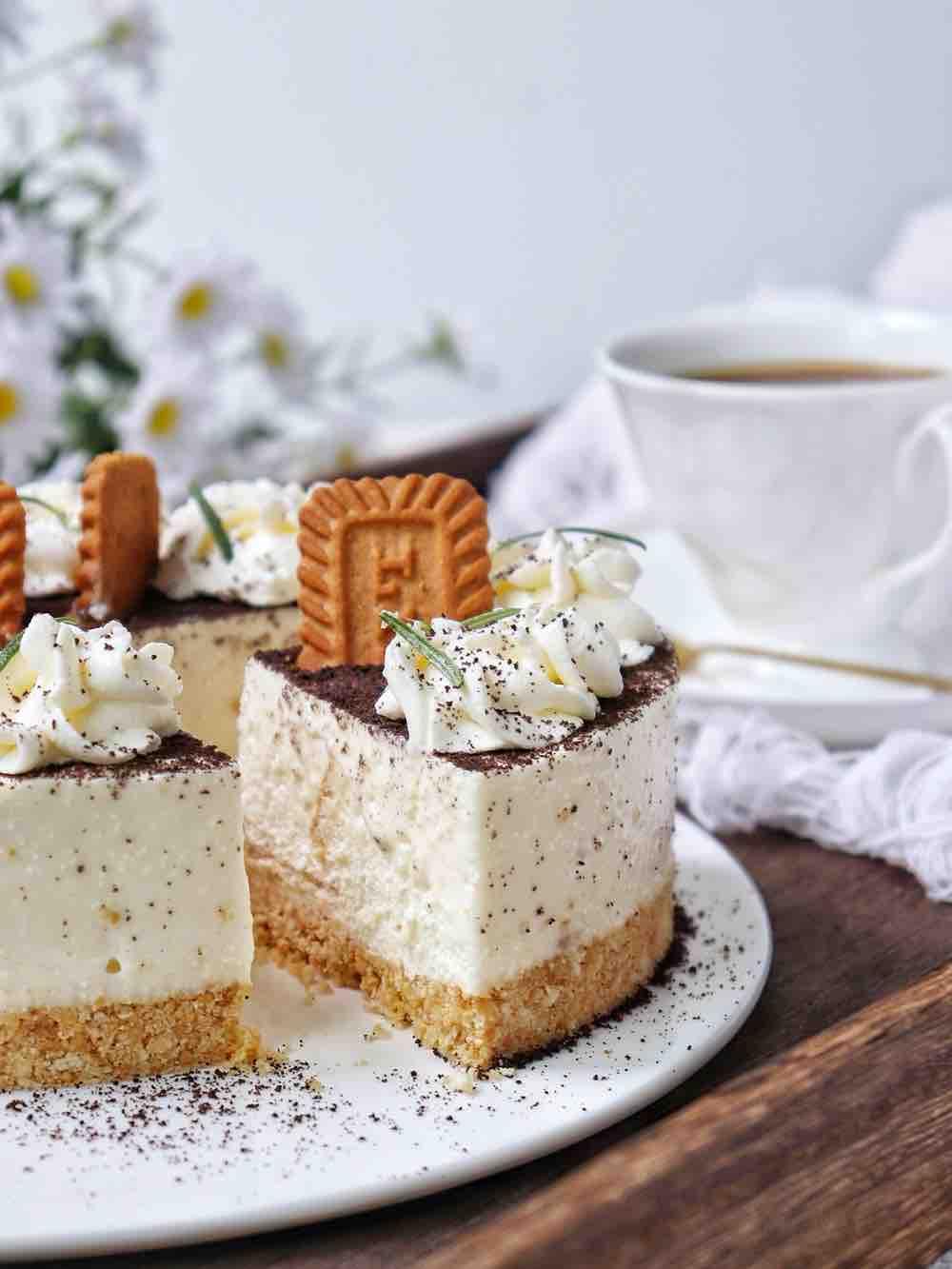 焦糖冻芝士蛋糕