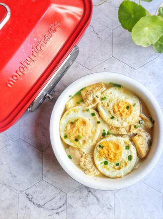 萝卜炖鸡蛋豆腐的做法