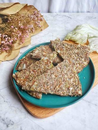 白菜粉丝煎饼的做法