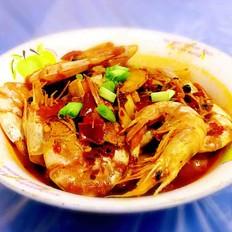 美极水煮干虾