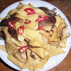 香菇干豆腐