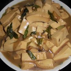 香葱烧豆腐