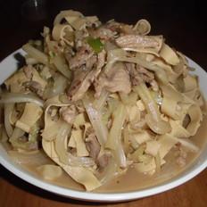 白菜炒干豆腐