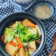 热乎乎的豆腐煲