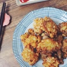 酥酥脆脆的土豆炸鸡块
