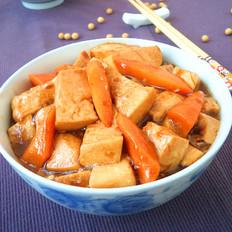 豆腐炖胡萝卜