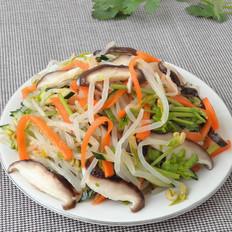 多彩豆芽菜
