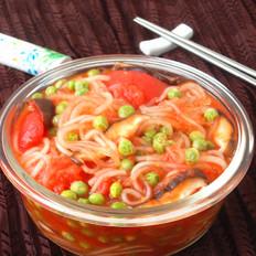 番茄烩红薯粉