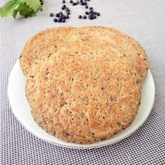 黑豆渣玉米面饼