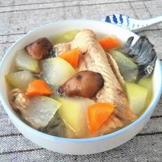 黑鱼骨冬瓜汤