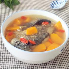 南瓜鲫鱼汤