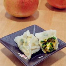 海蟹韭菜馅水饺
