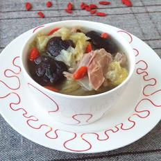 香菇白菜鸭骨汤