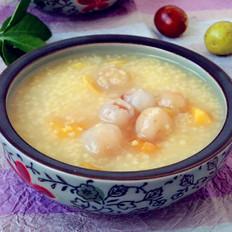 桂圆红薯小米粥
