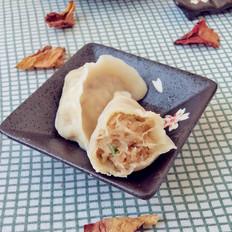 白萝卜猪肉馅水饺