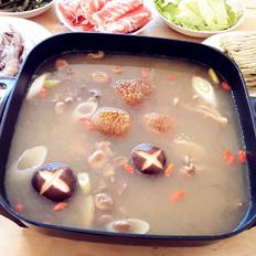 浓汤宝野生菌火锅