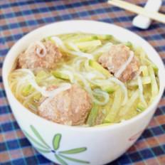 牛肉丸萝卜丝汤