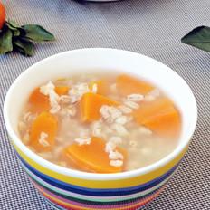 南瓜大麦糯米粥