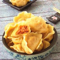 南瓜胡萝卜猪肉水饺
