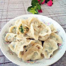 韭菜西葫芦猪肉馅水饺