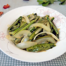 洋葱油麦菜
