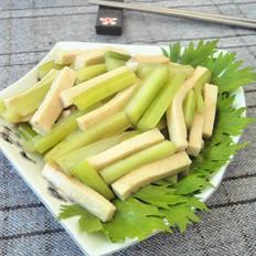 千页豆腐炒芹菜