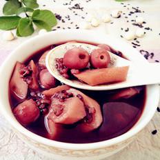 山药莲子黑米粥