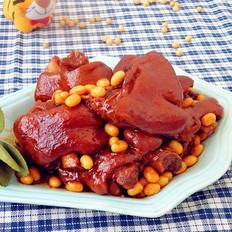 黄豆烧猪蹄