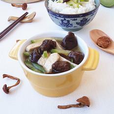 萝卜豆腐黄蘑汤
