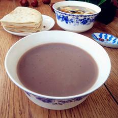 红豆红枣豆浆