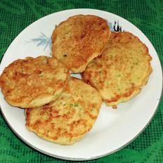 瓜皮豆渣鸡蛋饼