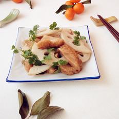 猴头菇烧莲藕