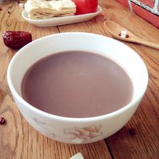茯苓双红豆浆