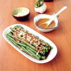 芝麻酱拌菜豆角