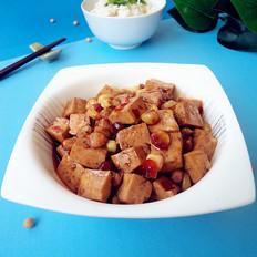 鱼香玉米豆腐