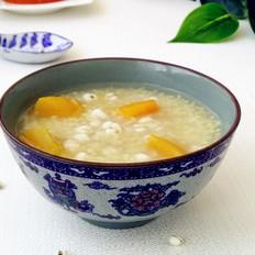 薏米南瓜小米粥