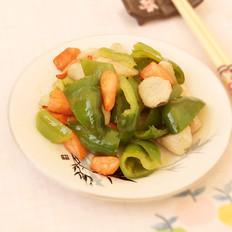 山药青椒胡萝卜