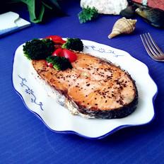 年夜饭硬菜之香煎三文鱼