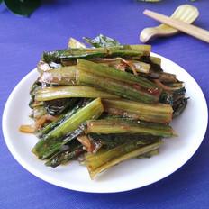咖喱油麦菜