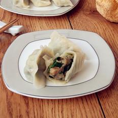 猴头菇猪肉韭菜馅水饺