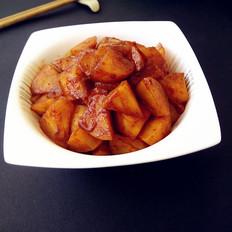 咖喱白萝卜