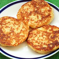 白萝卜豆渣鸡蛋饼