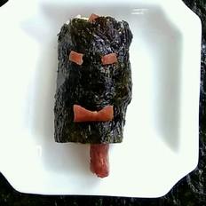 牛肉肠海苔饭卷