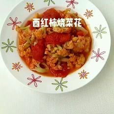 西红柿烧菜花的做法大全