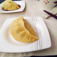 茴香香菇馅发面蒸饺