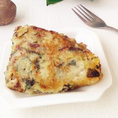 小白菜土豆饼