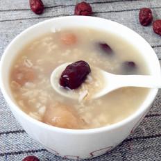 桂圆红枣大麦粥