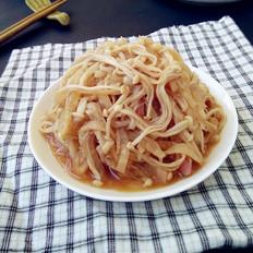 金针菇烧萝卜