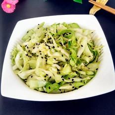 圆白菜生拌
